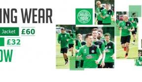 2016 / 17 Training Kit available now exclusively from Celtic