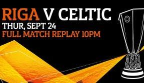 Riga v Celtic - watch match replay from 10pm on Pass to Paradise