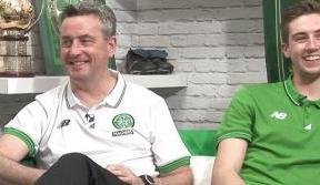 Just now on Celtic TV
