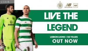 2017/18 Celtic home kit out now