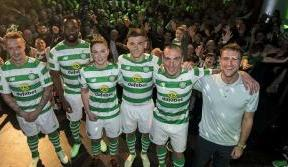 Bhoys are Green White & Bold at 2018/19 home kit launch