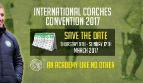 Limited spaces available at Celtic's 2017 Coaches' Convention