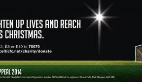 Get involved with Celtic FC Foundation's bucket collection this Christmas