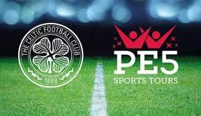Celtic Soccer Academy announce partnership with PE5 Sports Tours