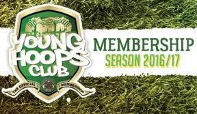 Young Hoops Club – 2016/17 Membership now available