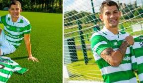 New signing Cristian Gamboa: I'm proud to be a Celt