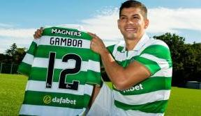 Delight as Celtic sign Cristian Gamboa