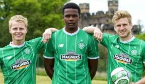 The Bhoys are back and proud to wear the new kit
