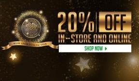 Celtic stores 20% off event on until midnight