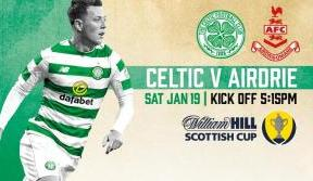 Celtic v Airdrie matchday guide – ticket office open 12noon Saturday
