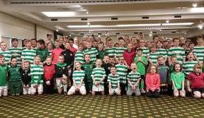 Our Young Hoops Club got the party started last weekend