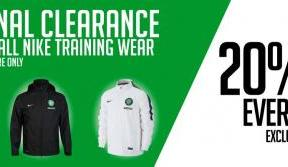 Grab a bargain in Celtic stores this weekend