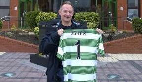 Usher's fitness Guru drops in on Celtic