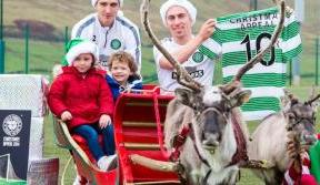 Celtic Players back 2014 Christmas Appeal