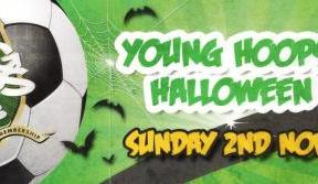 Sign up to the Young Hoops in time for our Hallowe'en Party