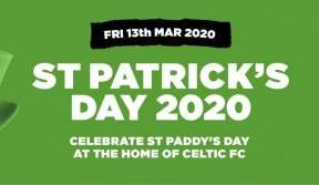 Celebrate St Patrick's Day at Paradise: extra date added