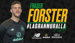 Celtic delighted to sign Fraser Forster