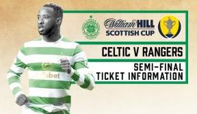 Scottish Cup Semi-Final Ticket Information