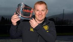 Neil Lennon wins Premiership Manager of the Month for November