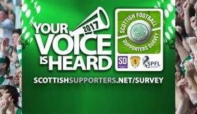 Celtic fans can make their voice heard in national game survey