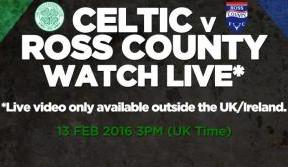 Back the Bhoys v Ross County on Celtic TV