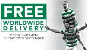 Celebrate with free worldwide delivery on all orders
