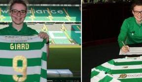 Celtic Women's team sign German striker, Josephine Giard