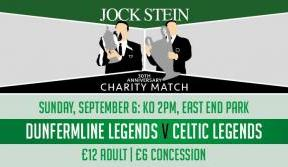 Jock Stein charity match guard of honour places now available