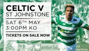 Don't Miss The Champions Back At Paradise v St Johnstone