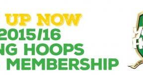Young Hoops Club membership available now for 2015/16
