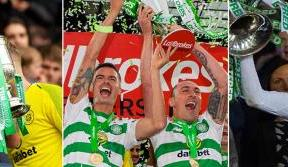 Mikael Lustig leaves Celtic as a Treble Treble Champion