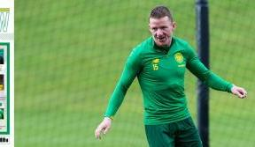 Jonny Hayes on his derby goal in this week's Celtic View