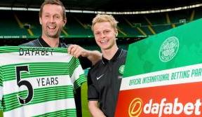 Celtic announce new partnership with Dafabet