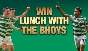 Time running out to enter competition to win lunch with the Bhoys
