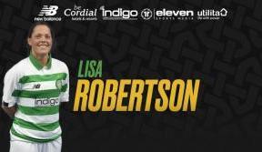 Midfielder Lisa Robertson joins Celtic for 2020 season