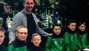 Junior Academy's latest Gold Band Bhoys