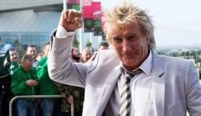 Sir Rod Stewart supports Celtic FC Foundation in New York