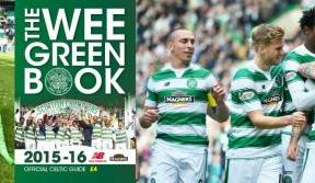 The wee green book – get your 2015/16 copy on sale now