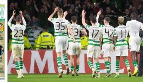 In your table-topping Celtic View this week