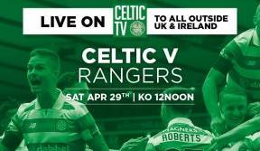 Watch the Glasgow derby from Ibrox LIVE On Celtic TV