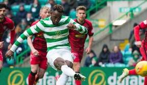 Dembele at the double as Celtic reach the Scottish Cup semi-finals
