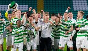Last-gasp drama as Celtic win the City of Glasgow Cup