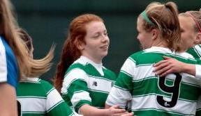 Celtic Women celebrate derby delight
