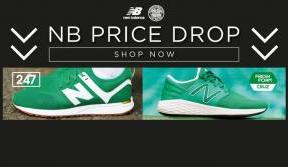 Make a great saving on Celtic X NB Collaboration trainers