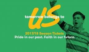 Cheer on the Invincibles' title defence with a Celtic season ticket