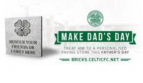 Gift a piece of Paradise with a personalised Celtic paving stone