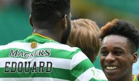 Edouard hits a treble as Celtic open season in style