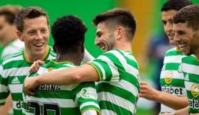 Elyounoussi and Frimpong start as Celtic host Hibs at Paradise