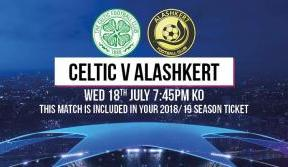 Celtic face Alashkert of Armenia in Champions League qualifier