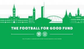 Celtic's Football For Good work begins with initial £175,000
